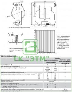 Трансформатор-напряжения-НОЛП-с-предохранителями-(для-схемы-2ТН)